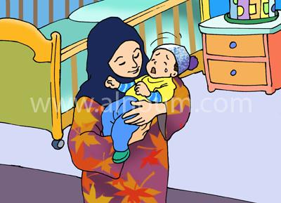 نوم الطفل في الشهر الرابع